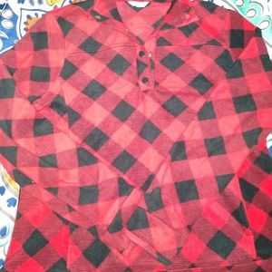 """RED & BLACK LUMBERJACK"" FLEECE"